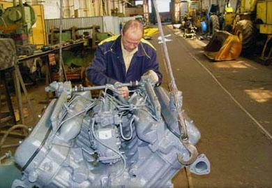 Восстановление и ремонт тракторов