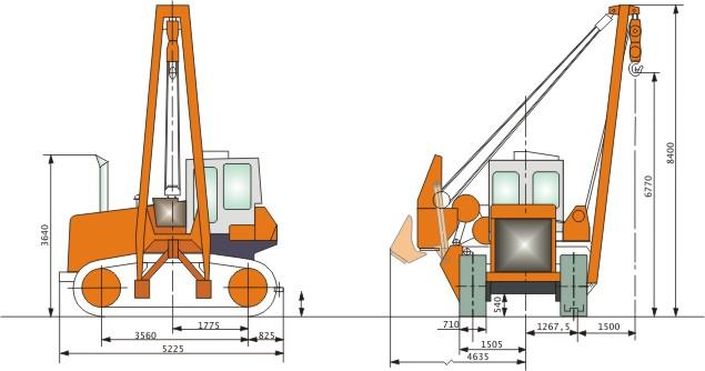 Картинка трактора ТГ-301